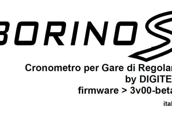 【34】 BORINOの新型 BORINO-S登場!