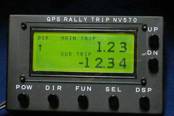 【14】 GPS RALLY TRIP NV570