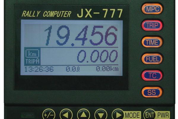 【20】ラリーコンピューター JX777