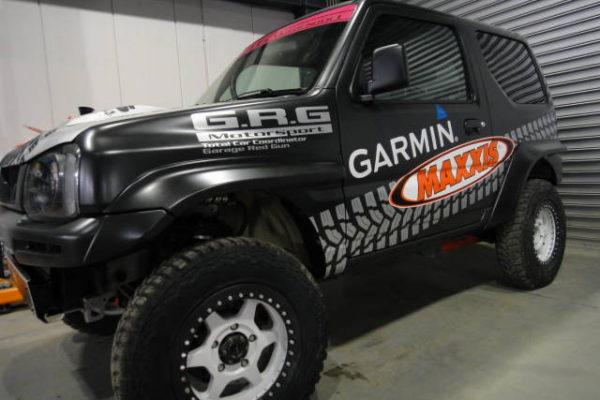 NASCは「GRG Motorsport」赤池選手を応援します!