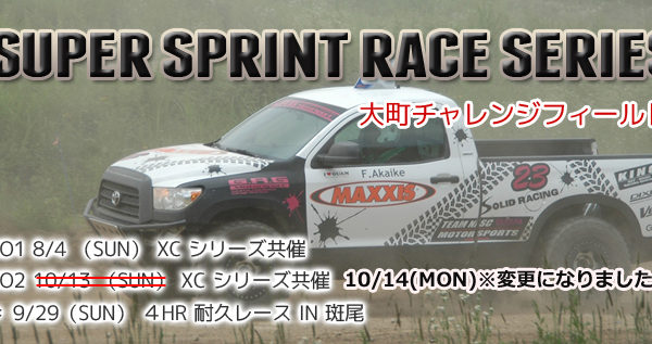 SUPER SPRINT RACE Series 【2013】